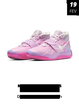 19_02_19 - Tênis Nike Zoom KD12 Xmas Aunt Pearl Rosa CT274-0-900