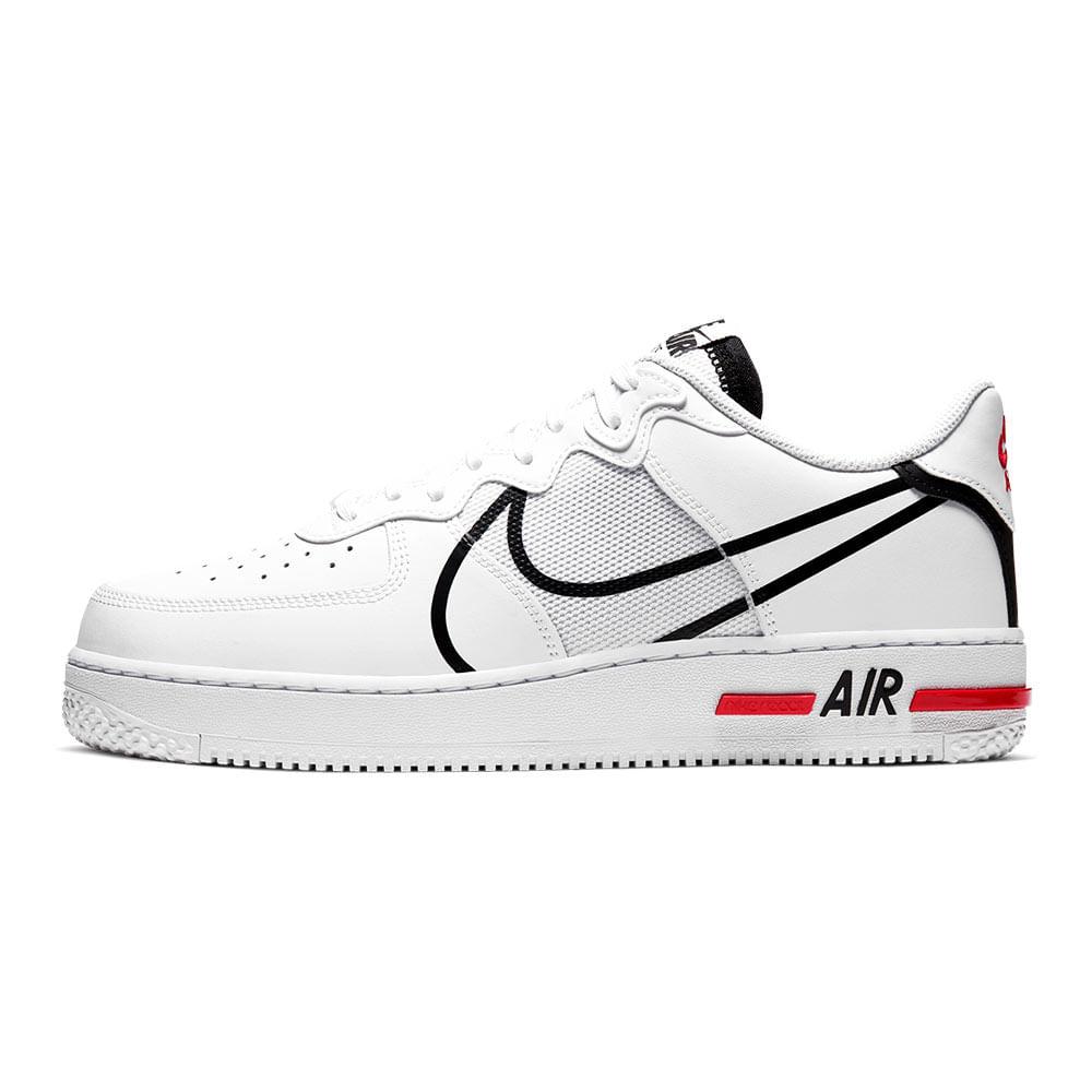 Tenis-Nike-Air-Force-1-React-Masculino-Branco
