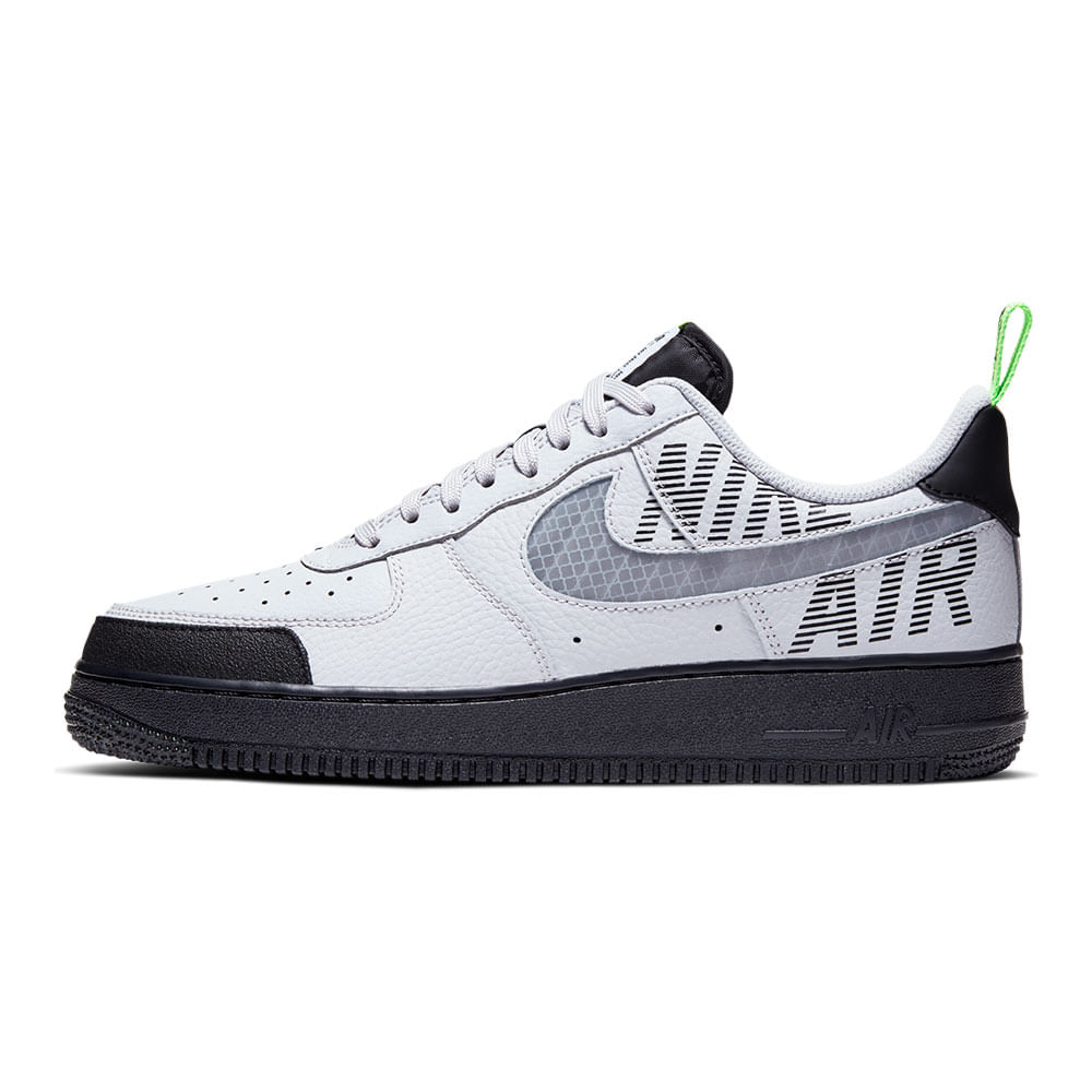 Tenis-Nike-Air-Force-1-07-Lv8-Masculino-Cinza