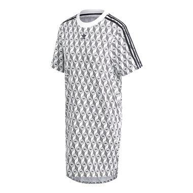 Vestido-adidas-Trefoil-Feminino-Branco
