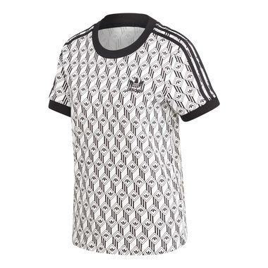 Camiseta-adidas-3-Stripes-Feminina-Multicolor