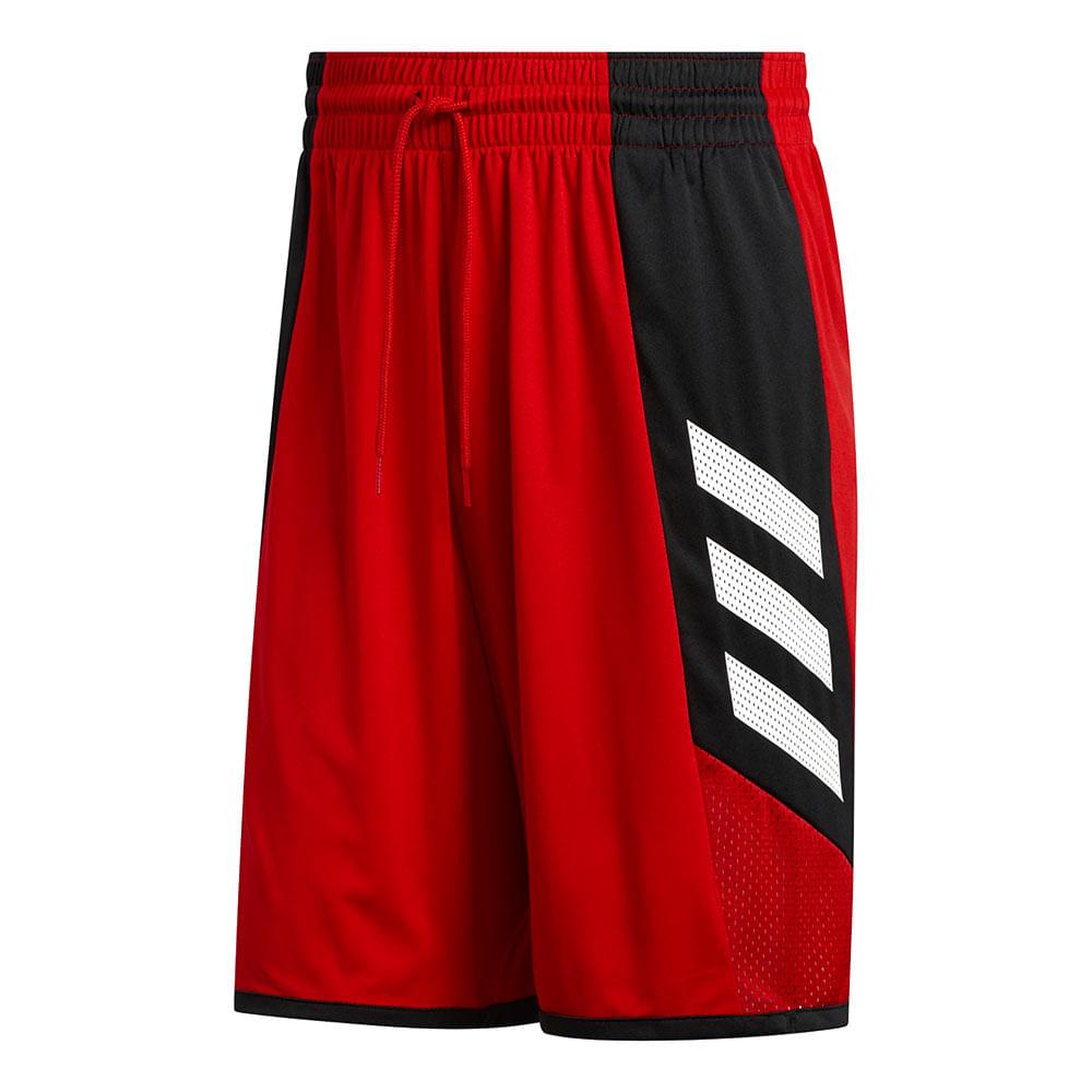 Bermuda-adidas-Pro-Bounce-2.0-Masculina-Vermelha