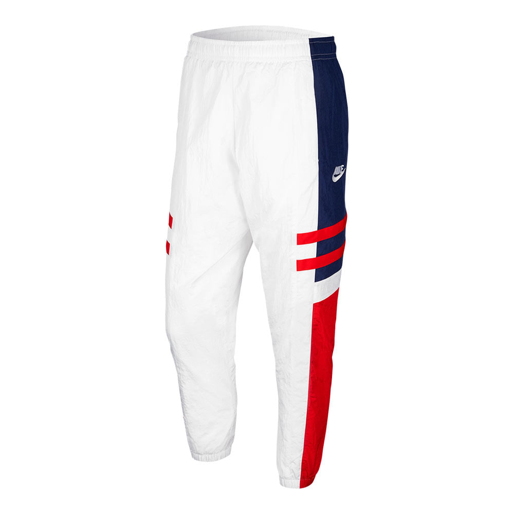 Calca-Nike-Re-Issue-Wvn-Masculina-Branca