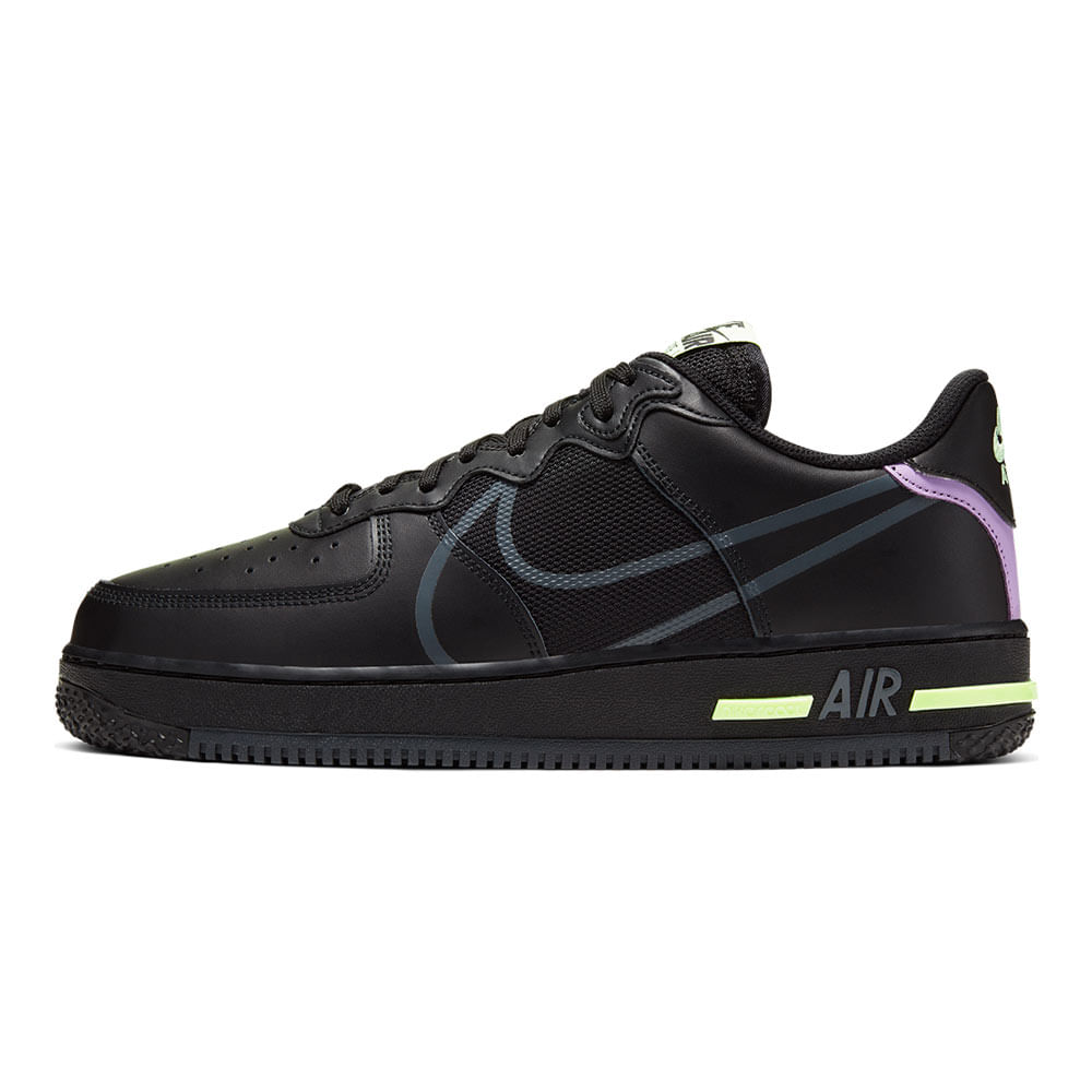 Tenis-Nike-Air-Force-1-React-Masculino-Preto