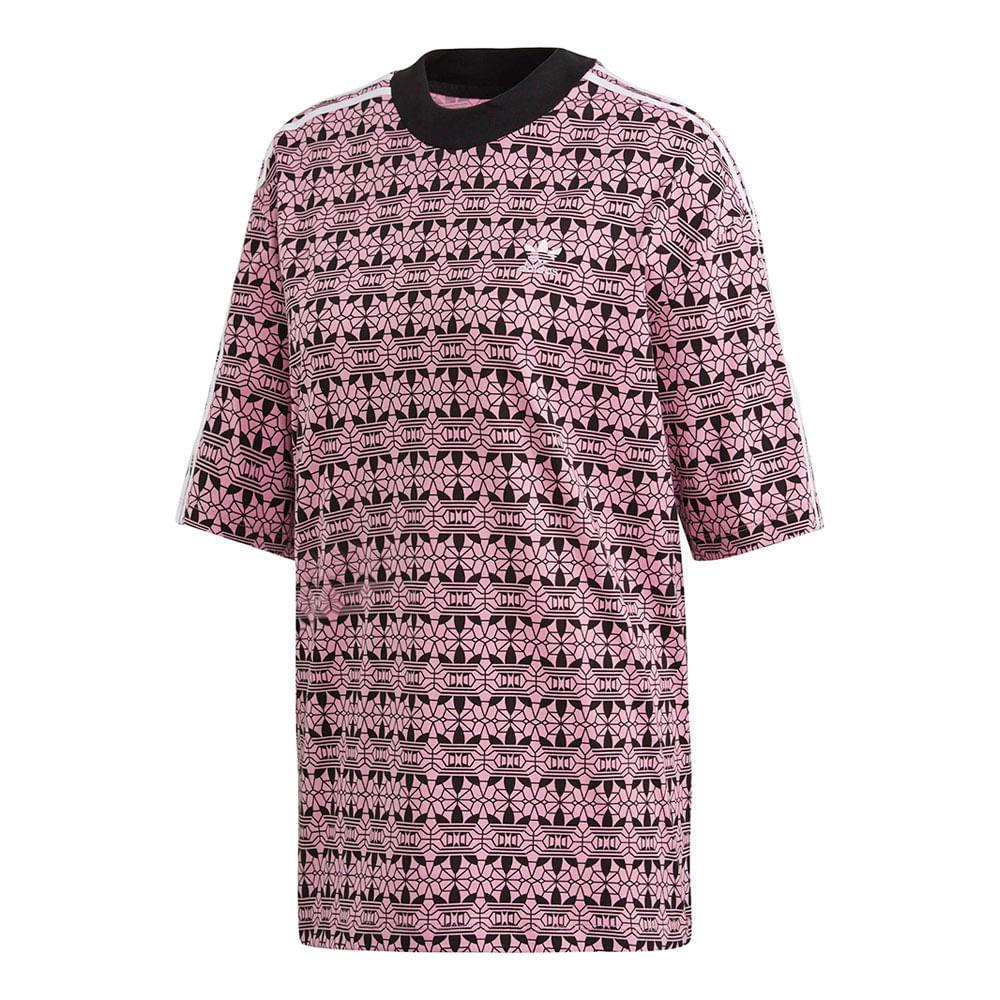 Camiseta-adidas-AOP-Feminina-Multicolor