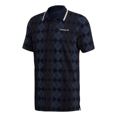 Camiseta-adidas-Polo-Argyle-Pique-Masculina-Azul