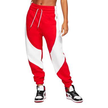 Calca-Jordan-X-PSG-Fleece-Feminina-Vermelha