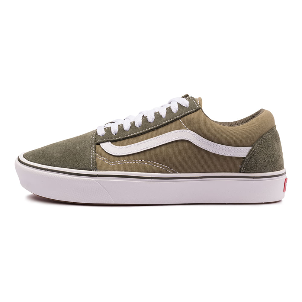 Tenis-Vans-Old-Skool-Comfycush-Verde