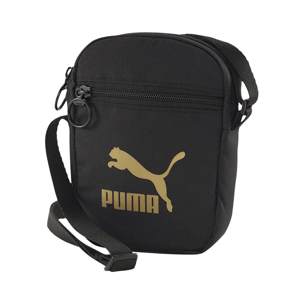Bolsa-Puma-Originals-Portable-Woven-Preta