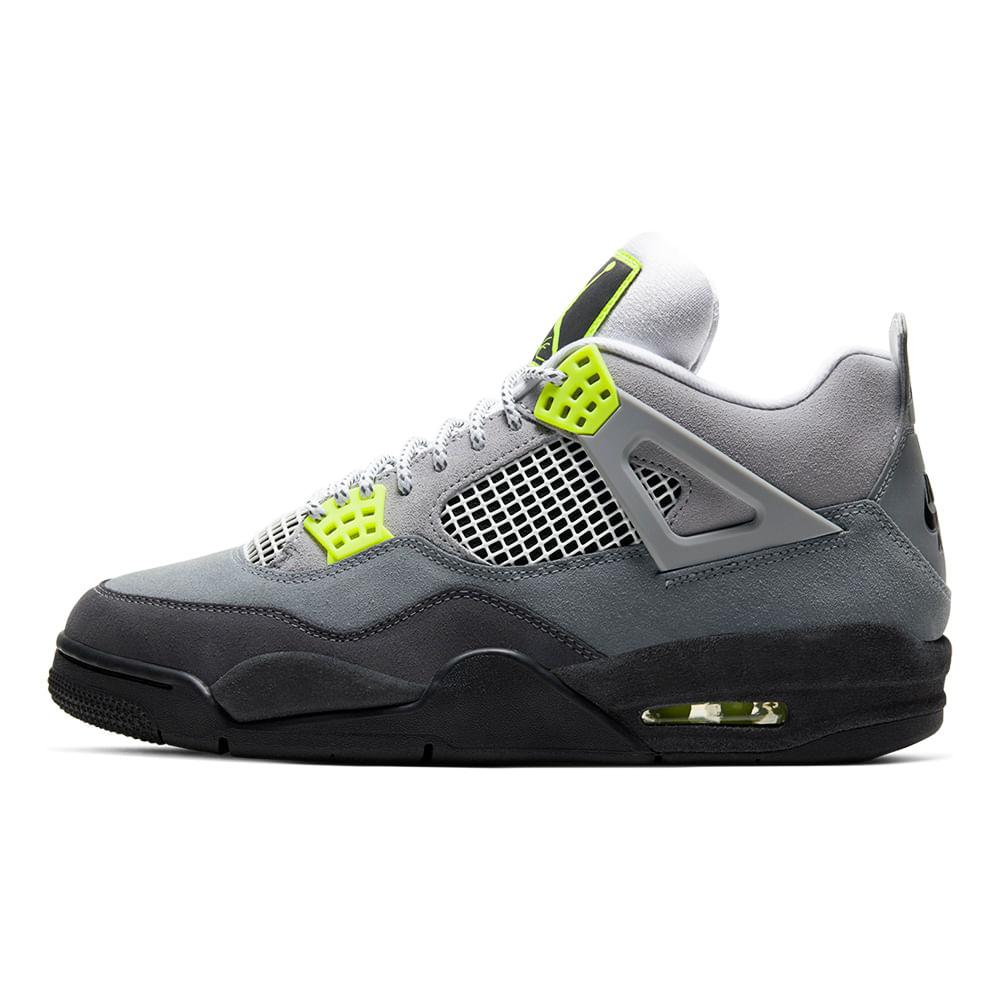 Tenis-Air-Jordan-4-Retro-LE-Masculino-Cinza