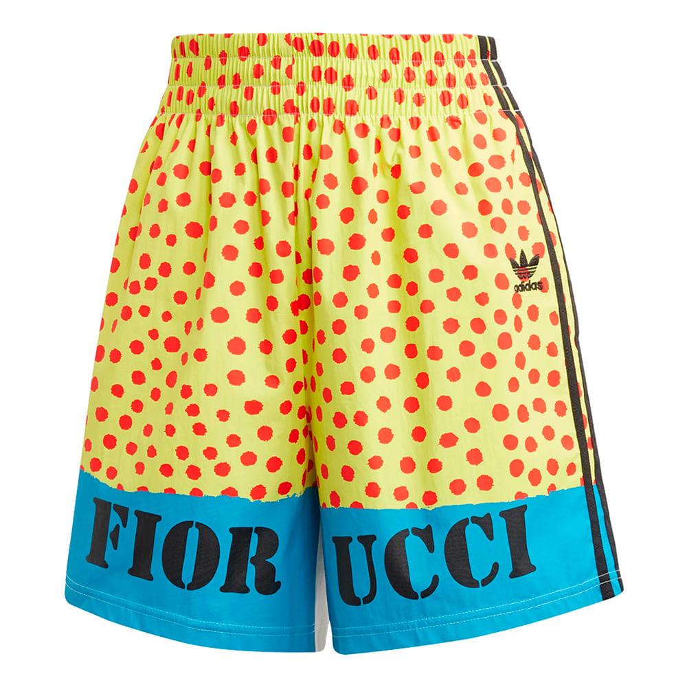 Shorts-adidas-Graphic-Feminino-Multicolor