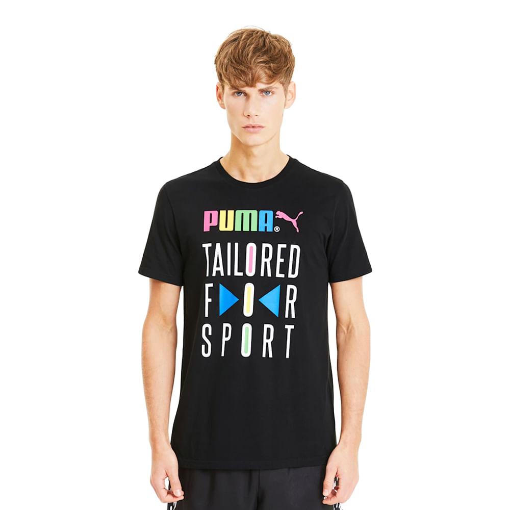 Camiseta-Puma-Graphic-TFS-Masculina-Preta