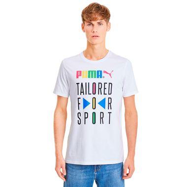 Camiseta-Puma-Graphic-TFS-Masculina-Branca
