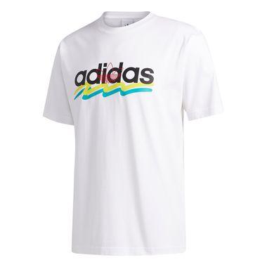 Camiseta-adidas-Stroke-Masculina-Branca