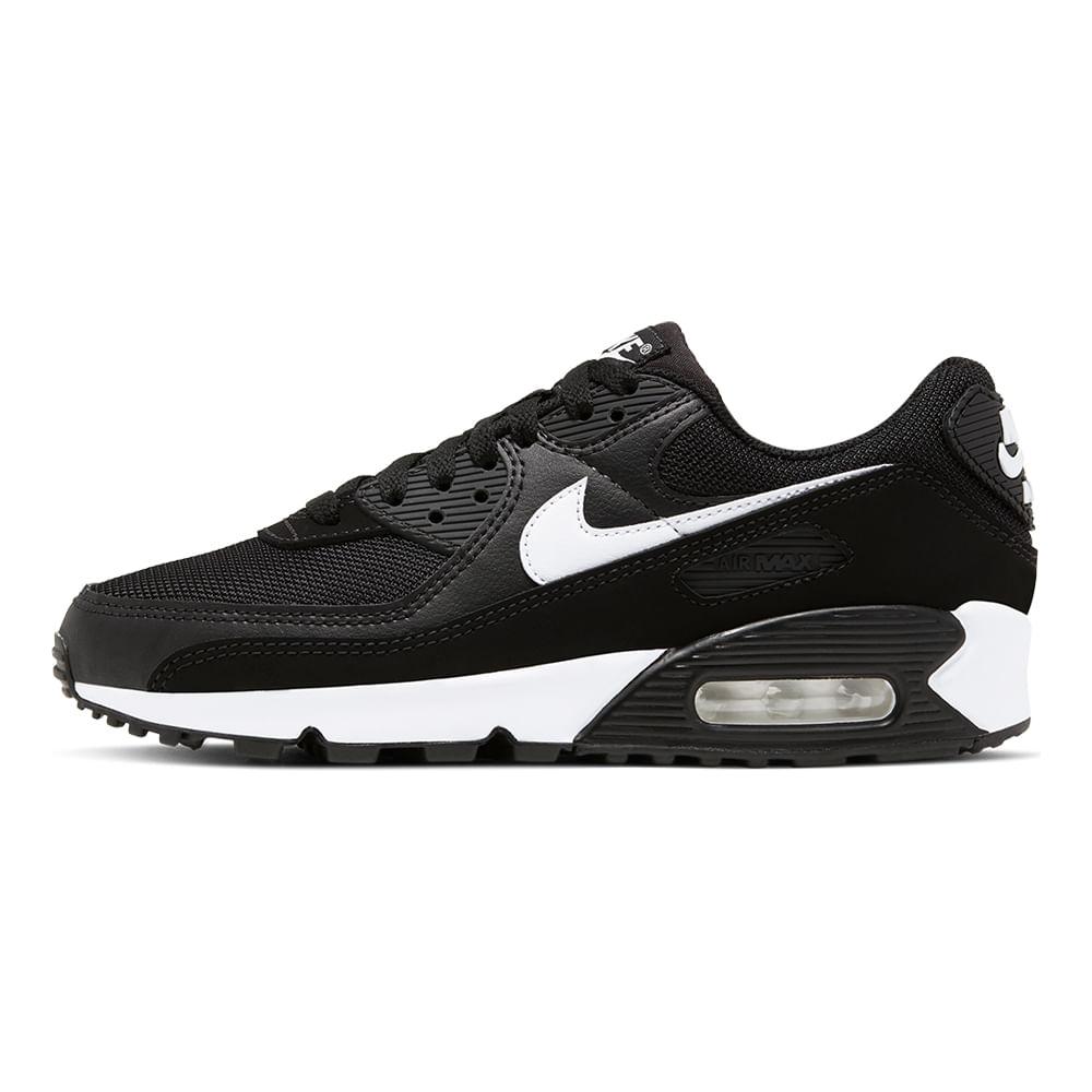 Tenis-Nike-Air-Max-90-Feminino-Preto