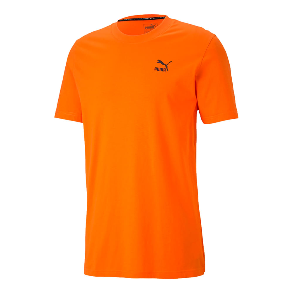 Camiseta-Puma-Recheck-Pack-Graphic-Masculina-Laranja