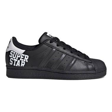 Tenis-adidas-Superstar-GS-Infantil-Preto