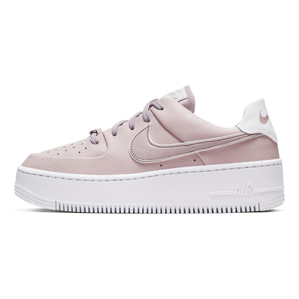 Tenis-Nike-Air-Force-1-Sage-Low-Feminino-Rosa