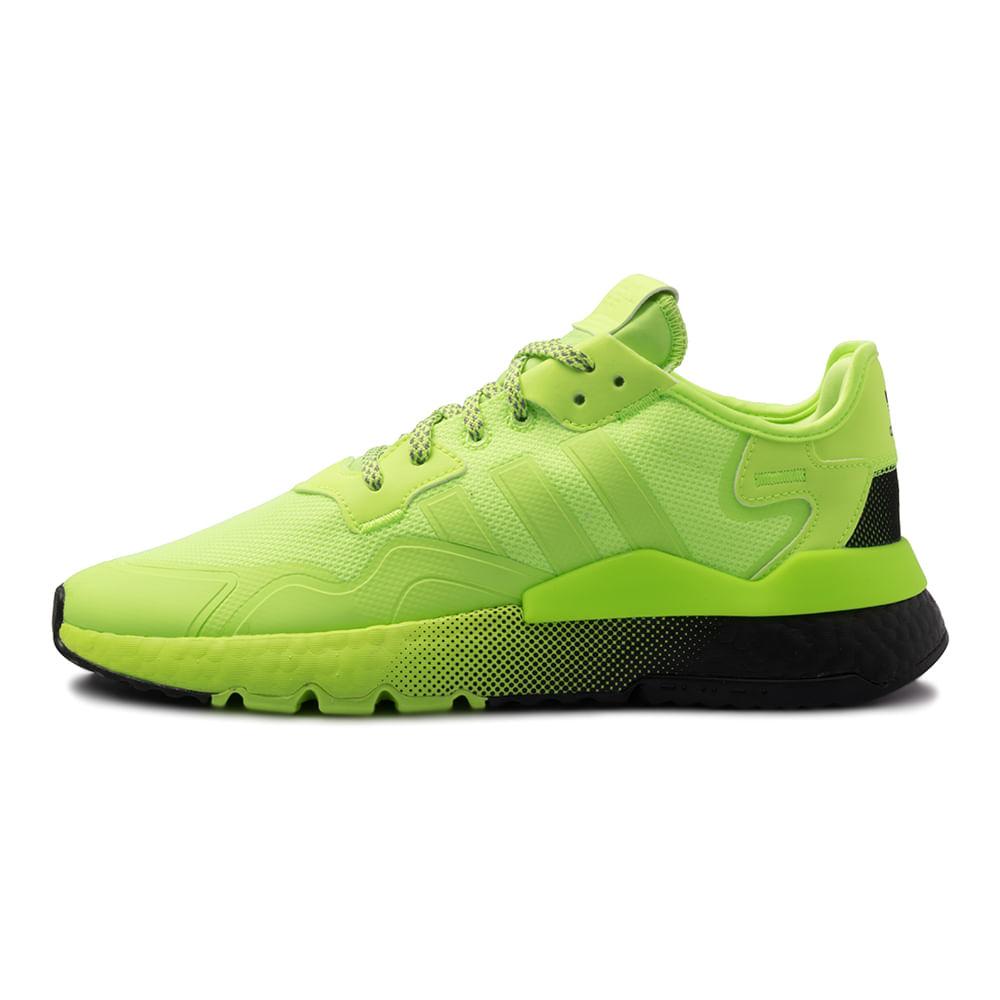 Tenis-adidas-Nite-Jogger-Masculino-Verde