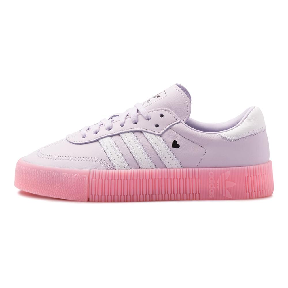 Tenis-adidas-Sambarose-Feminino-Rosa