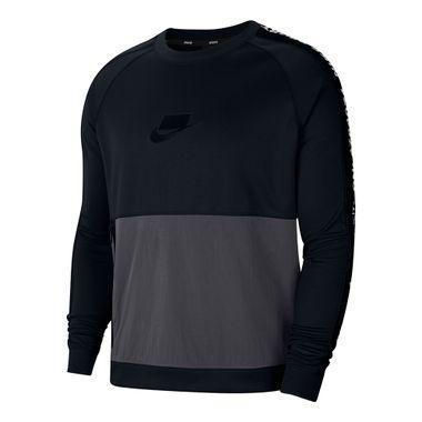 Blusa-Nike-Crew-PK-Masculina-Preta