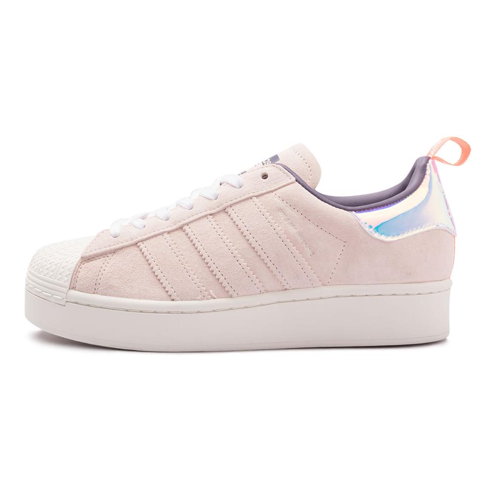 Tenis-adidas-Superstar-Bold-Feminino-Multicolor