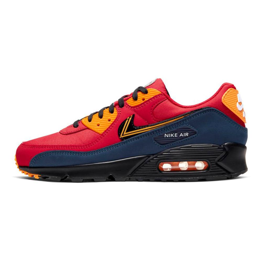Tenis-Nike-Air-Max-90-Prm-Masculino-Multicolor