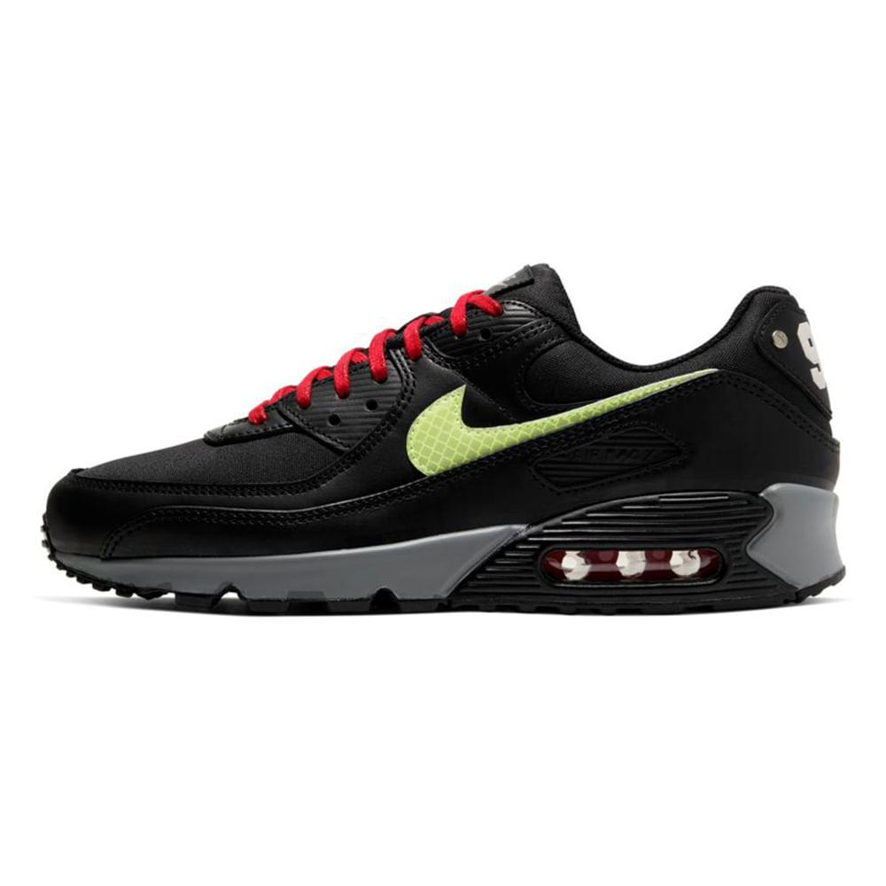 Tenis-Nike-Air-Max-90-Prm-Masculino-Preto