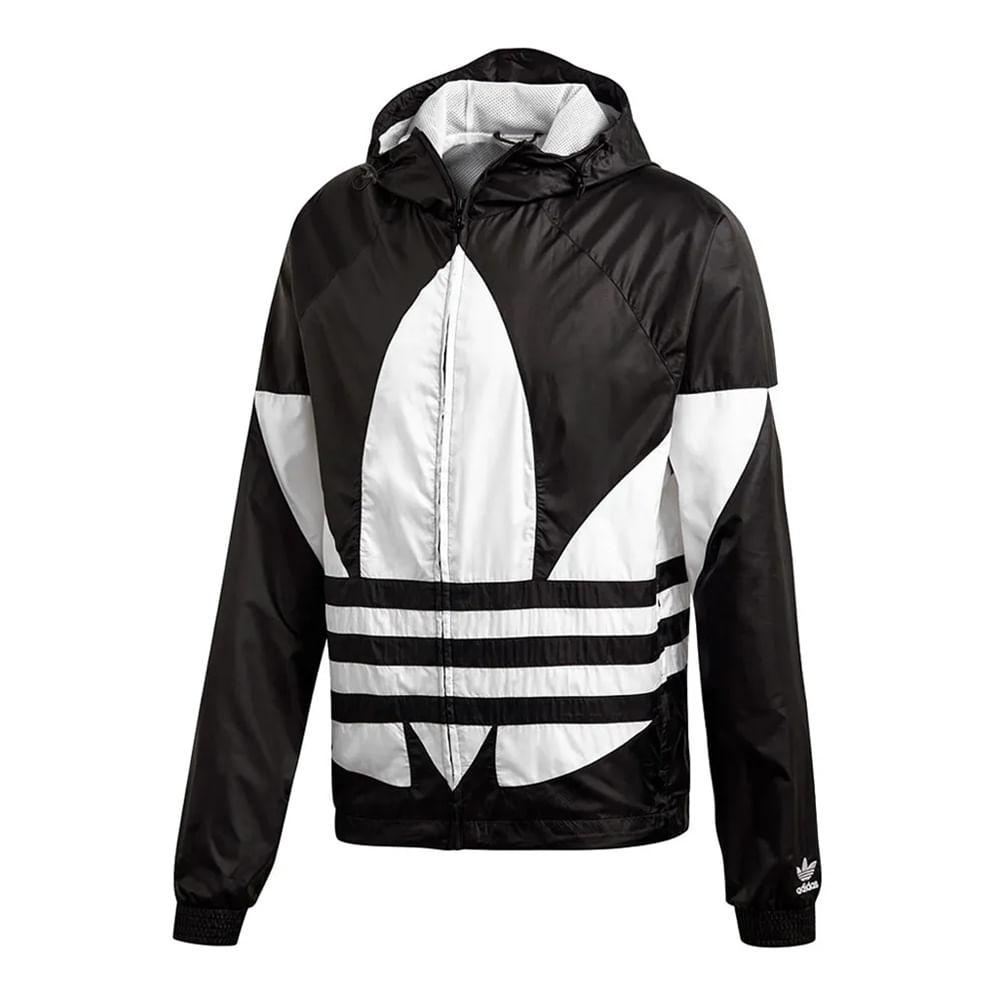 Jaqueta-adidas-Big-Trefoil-WB-Masculina-Preta