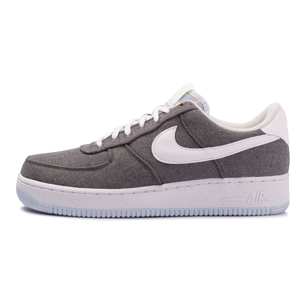 Tenis-Nike-Air-Force-1-07-LX-Masculino-Cinza