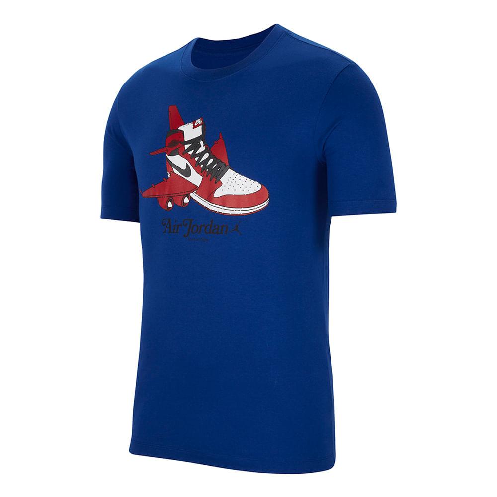 Camiseta-Jordan-Brand-Graphic-Masculina-Azul