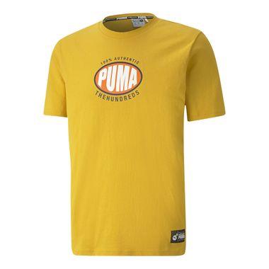 Camiseta-Puma-X-TH-Masculina-Amarela