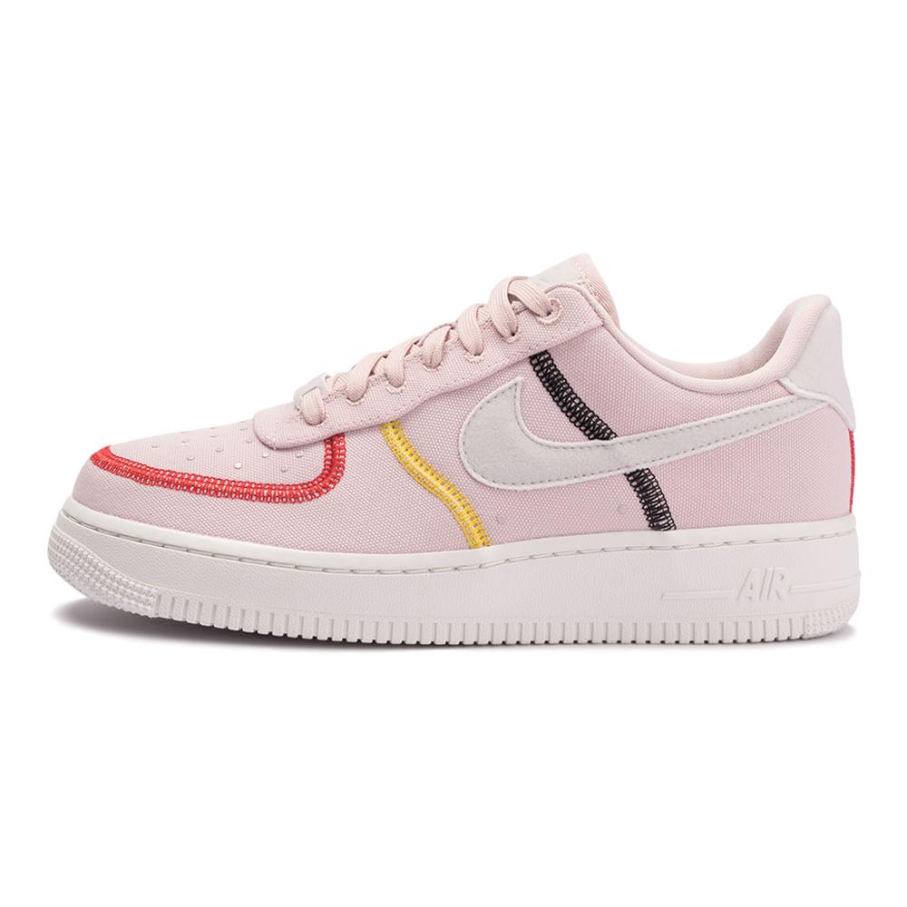 Tenis-Nike-Air-Force-1-07-LX-Feminino-Rosa