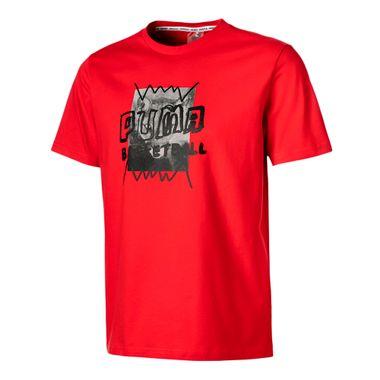 Camiseta-Puma-Street-Masculina-Vermelho