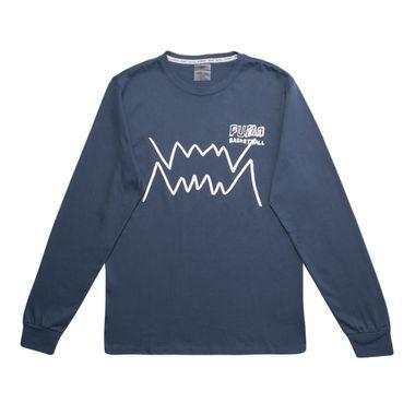 Camiseta-Puma-Bite-Ls-Masculina-Azul