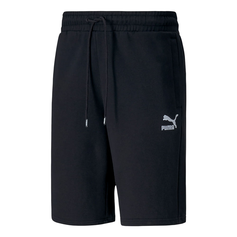 Shorts-Puma-Classic-Logo-Masculino-Preta