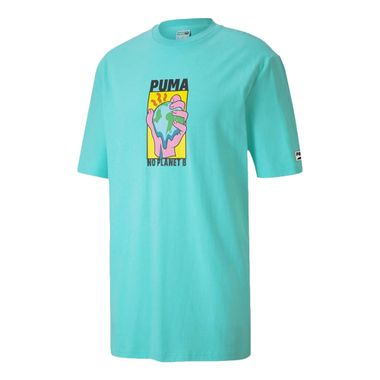 Camiseta-Puma-Downtown-Graphic-Masculina-Azul