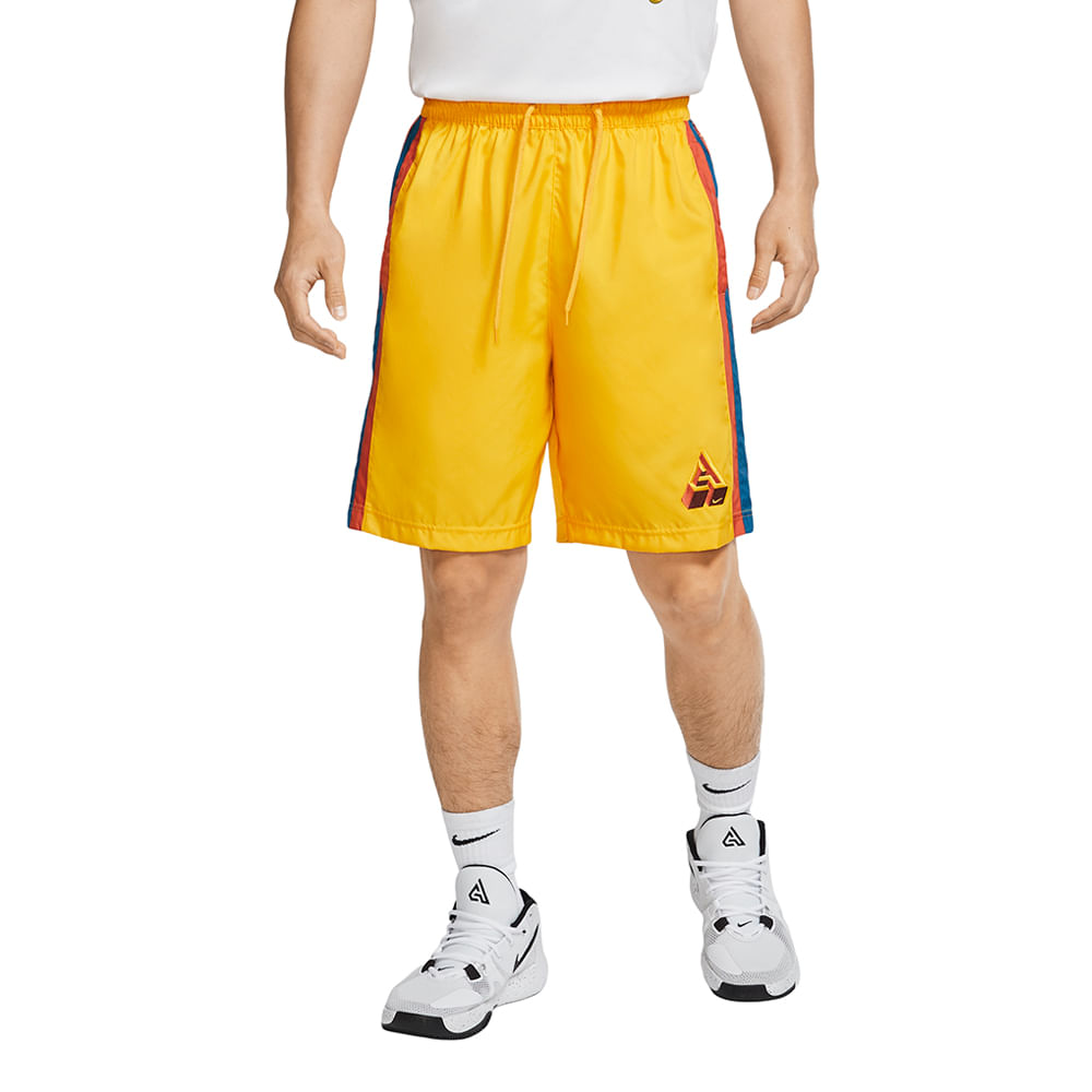 Shorts-Nike-Giannis-Masculino-Amarelo