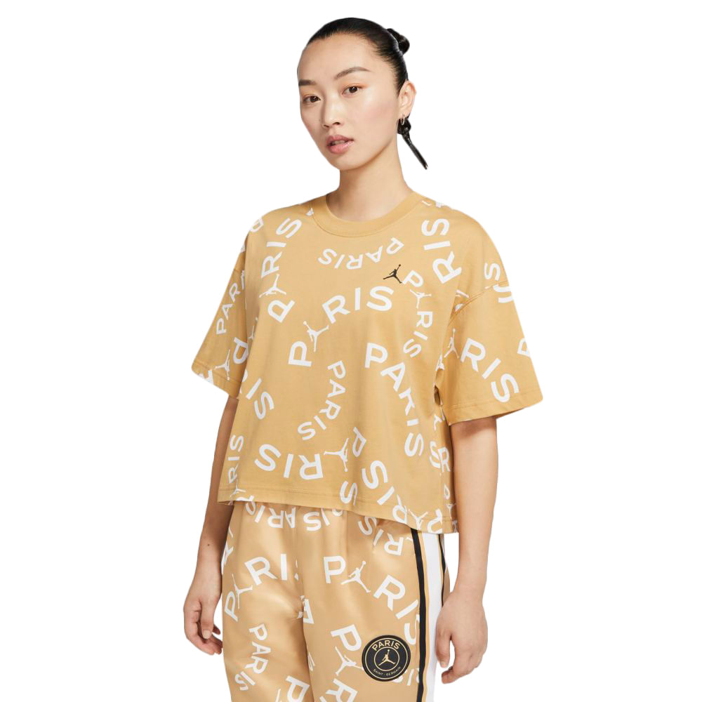 Camiseta-Jordan-X-PSG-Feminina-Amarelo