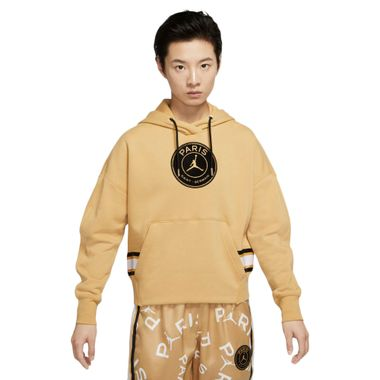 Blusao-Jordan-X-PSG-Fleece-Feminino-Amarela