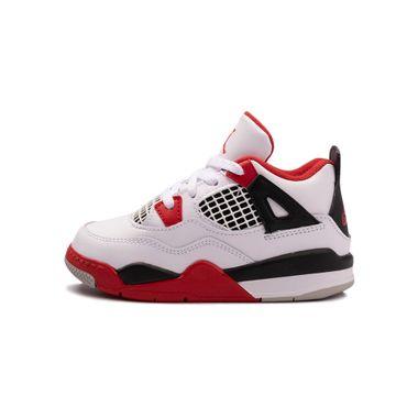Tenis-Air-Jordan-4-Retro-TD-Infantil-Branca