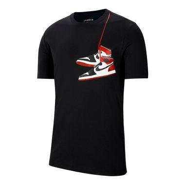 Camiseta-Jordan-AJ1-Shoe-Masculina-Preta