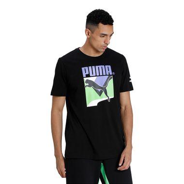 Camiseta-Puma-Tfs-Graphic-Masc-Preta