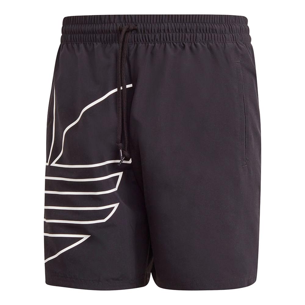 Bermuda-adidas-Big-Trefoil-Out-Masculina-Preta