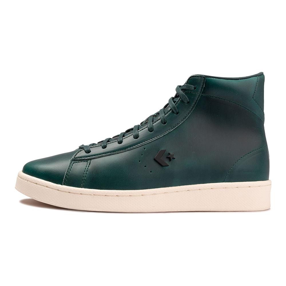 Tenis-Converse-X-Horween-Pro-Leather-Hi-Verde