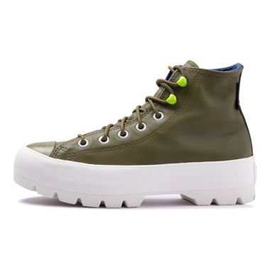 Tenis-Converse-Chuck-Taylor-All-Star-Lugged-Winter-Hi-Verde