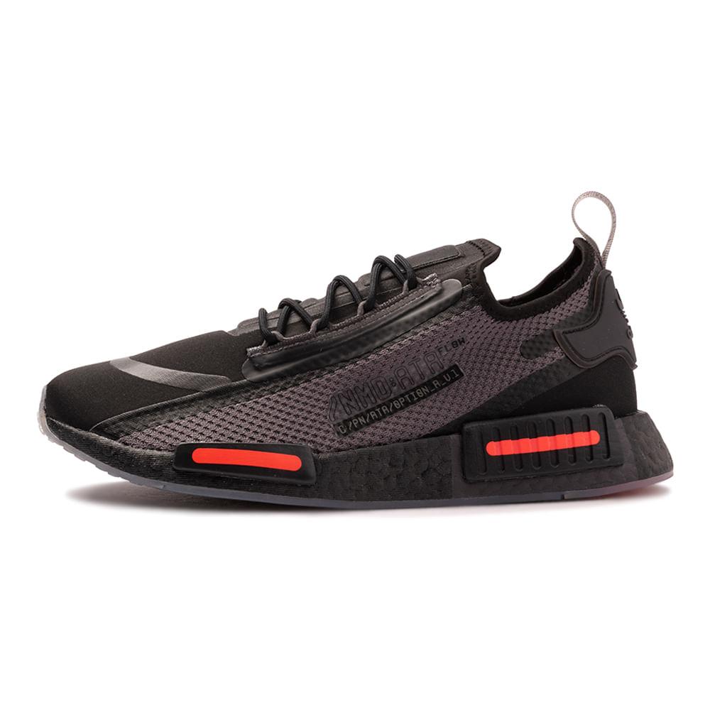 Tenis-adidas-NMD-R1-Speedlines-Masculino-Preto