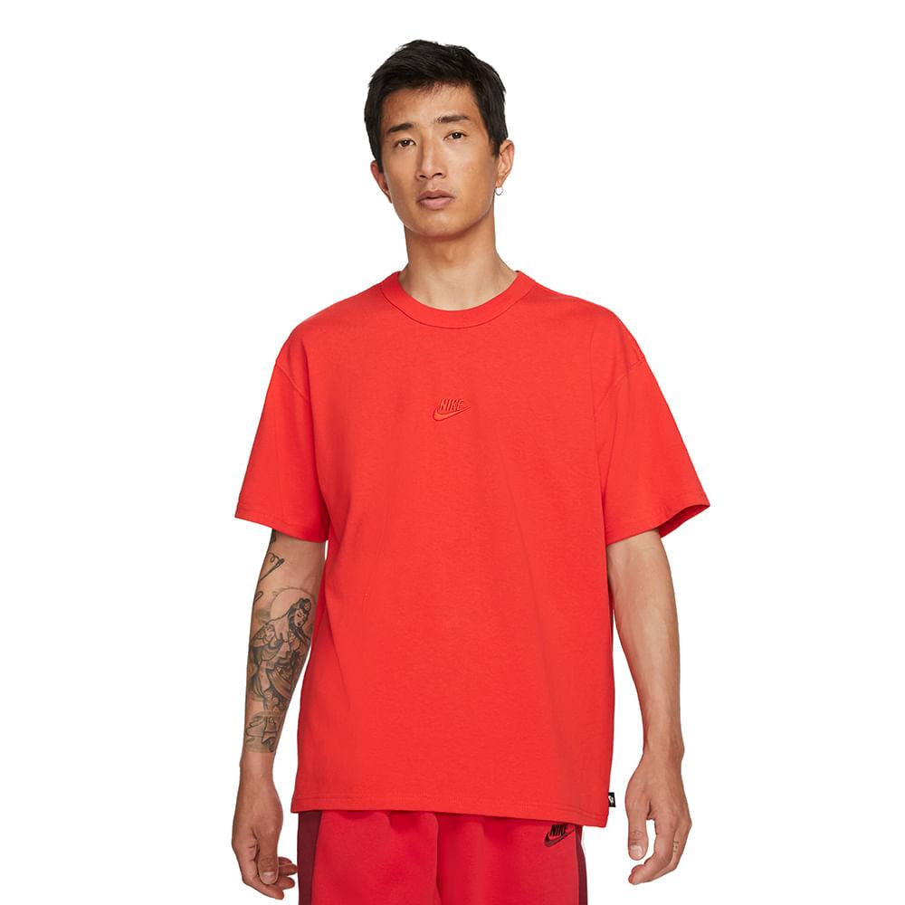 Camiseta-Nike-Premium-Masculina-Vermelho