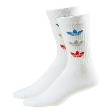 Meia-adidas-Tricolor-Thin-Branco