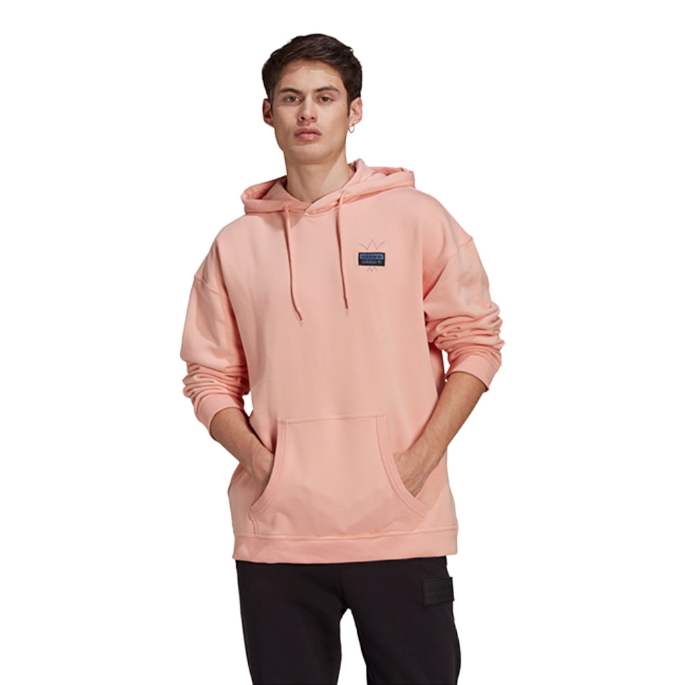 Blusa-adidas-Abstract-Hoody-Masculina-Salmao